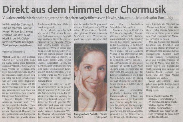 14.10. 2013, Oldenburgische Volkszeitung