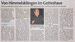 29. Oktober 2013, Oldenburgische Volkszeitung