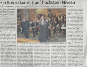 2. Februar 2016, Oldenburgische Volkszeitung