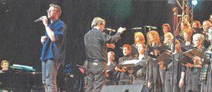 Lars Ruppel und das Vokalensemble Marienhain Vechta wussten zu überzeugen