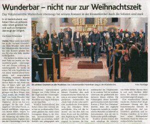 Oldenburgische Volkszeitung vom  15. Dezember 2017