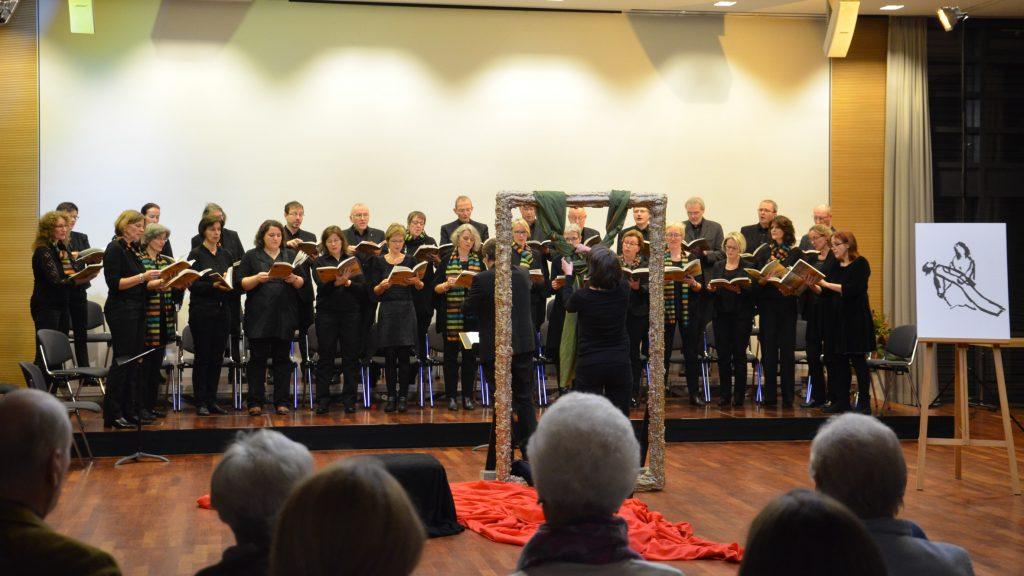 """Uraufführung """"Stella Maris"""" am 4. 12. 15 in der Akademie in Stapelfeld"""