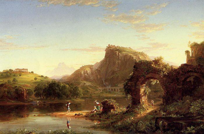 Thomas Cole: L´Allegro (1845)
