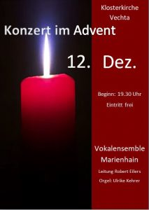 Plakat Adventskonzert